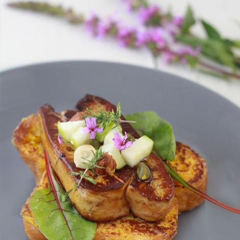 Quelle pr sentation pour mes assiettes de foie gras blog de la maison lartigue fils - Foie gras decoration assiette ...