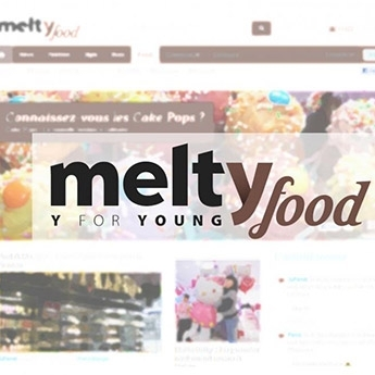 Parution sur le site Melty Food