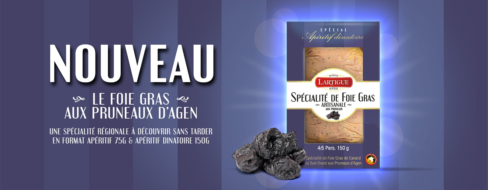 foie gras Pruneaux d'Agen