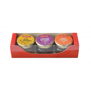Coffret 3 mini confits Lartigue
